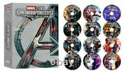 23 MARVEL STUDIOS CINEMATIC UNIVERSE MOVIE COLLECTION 12 DVD Avengers Endgame