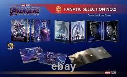 AVENGERS ENDGAME 4K UHD + 2D Blu-ray STEELBOOK BOXSET FANATIC SELECTION OC