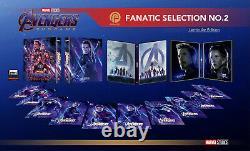 AVENGERS ENDGAME Blu-ray 4K UHD + 2D Steelbook FANATIC SELECTION OC BOXSET
