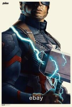AVENGERS ENDGAME Phantom City Creative Signed Numbered AP LE40 Print Poster OOS