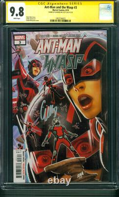 Ant Man and Wasp 3 CGC SS 9.8 Evangeline Lilly 2018 Avengers Endgame Movie