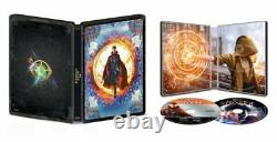 Avengers 1-4 Infinity War+Endgame+Captain Marvel+Doctor Strange 6× 4K STEELBOOK