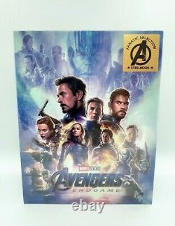 Avengers End Game (FANATIC SELECTION) Ltd Ed One-Click Box Set VHTF