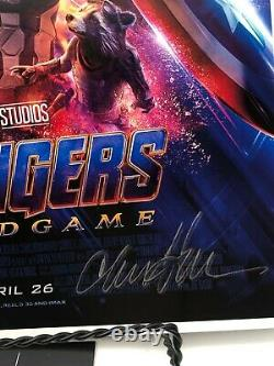 Avengers Endgame Cast Autographed 11x17 Photograph