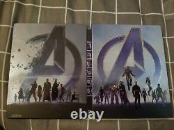 Avengers Endgame Fanatic Selection Double Lenticular Steelbook (4K UHD)
