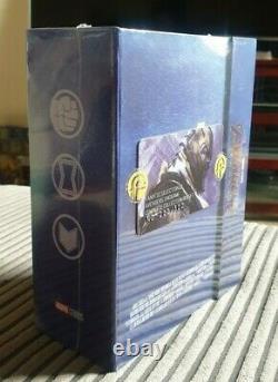Avengers Endgame Fanatic Steelbook Blu-ray 4K ONE-CLICK Lenticulars Blufans 500