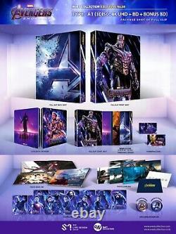 Avengers Endgame Fullslip Steelbook 4k UHD WeET Collection Type A1