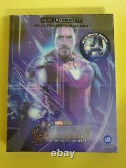Avengers Endgame Lenticular Fullslip Steelbook 4k UHD WeET Collection Type B1