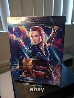 Avengers Endgame Lenticular Fullslip Steelbook 4k UHD WeET Type B1 SEALED