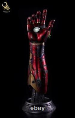 Avengers Endgame Signed Robert Downey Jr Iron Man Gauntlet Taurus BAS Beckett