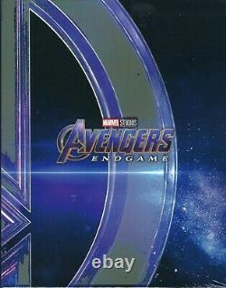 Avengers Endgame WeET Collection 4K Limited SteelBook One-Click Box Set (Korea)