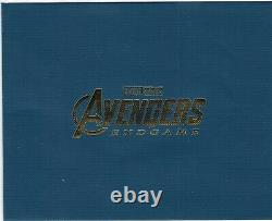 Avengers Endgame WeET Collection 4K Limited SteelBook withFull Slip A1 (Korea)