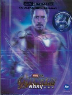 Avengers Endgame WeET Collection 4K Limited SteelBook withLenti Slip B1 (Korea)