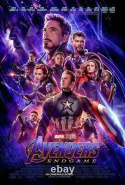 Avengers Endgame original DS one sheet movie poster 27x40 INTL Final