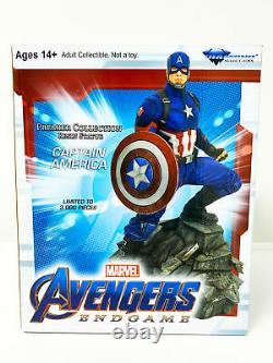 Captain America Marvel Avengers Endgame Diamond Select Marvel Movie Premier Coll