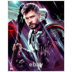 Chris Hemsworth Autographed Avengers Endgame Thor 16x20 Photo