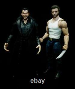 Custom Marvel Legends Gambit and Victor Creed Sabretooth X-men Wolverine movie