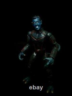 Custom Marvel Legends Nightcrawler and Cyclops X-men movie