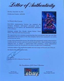 Don Cheadle Chris Hemsworth +3 Signed Avengers End Game 12x18 Photo PSA AH52850