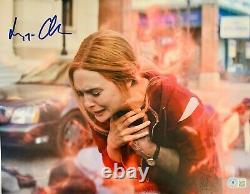 Elizabeth Olsen Signed 11x14 Wandavision Photo Scarlett Witch Beckett