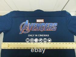 Free Avengers Endgame Promo Jacket + Marvel Black Widow New L-xl Film Crew Hat