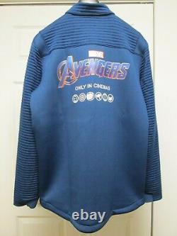 Free Avengers Endgame Promo Jacket + Marvel Luke Cage Netflix Tv Crew XL Hoodie