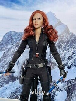 Hot Marvel Avengers Black Widow Movie Figure Kitbash 16 Scale 12 Collector Toy