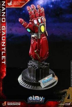 Hot Toys Avengers Endgame 1/4 Scale Replica Nano Gauntlet Movie Promo Ver