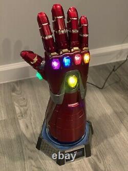 Hot Toys Avengers Endgame Nano Gauntlet 11 Scale Life-Size Movie Replica