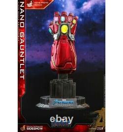 Hot Toys Avengers Endgame réplique 1/4 Nano Gauntlet Movie Promo Edition 19cm