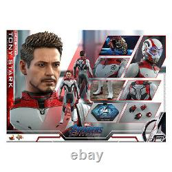 Hot Toys End Game Movie Masterpiece Tony Stark Team Suit Figure NEW
