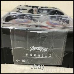 Hot Toys Movie Masterpiece Avengers Endgame 1/6 Captain America Action Figure