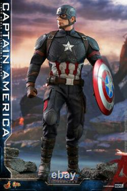 Hot Toys Movie Masterpiece Captain America (Avengers / End Game) Japan version