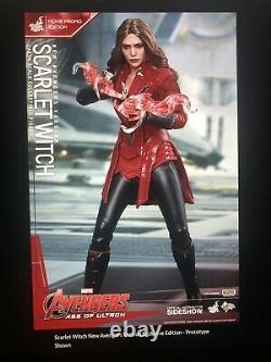 Hot Toys Scarlet Witch New Avengers Version Movie Promo Edition New In Box
