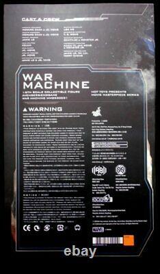 Hottoys Movie Masterpiece Diecast War Machine Mms530d3