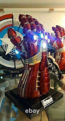 In Stock Hulk Infinity Gauntlet Metal Wearable 1/1 model Avengers Endgame cos