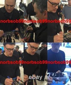 JOE & ANTHONY RUSSO SIGNED AVENGERS ENDGAME 11x14 PHOTO wEXACT PROOF BECKETT BAS