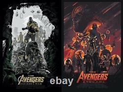 Juan Ramos Avengers Infinity War Endgame Screen Print Poster Private Commission