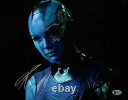 Karen Gillan signed Avengers Endgame Nebula 11x14 Photo BAS