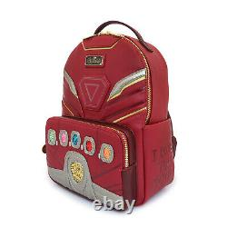 Loungefly Ironman Nano Gauntlet Mini Backpack Marvel Movie Avengers End Game New