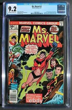 MS MARVEL #1 Captain Carol Danvers MOVIES 1977 Avengers Infinity Endgame CGC 9.2