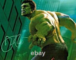 Mark Ruffalo Hulk The Avengers Endgame Marvel Signed Auto 8x10 Photo DG COA (D)