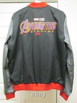 Marvel Avengers Endgame Film Crew Promo Jacket + Free Disney Wandavision Shirt