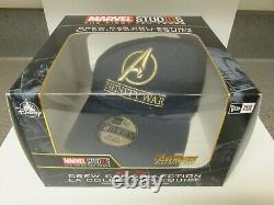 Marvel Studios Avengers Endgame Film Crew Jacket + Free Disney Infinity War Cap