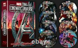 Marvel Universe Cinematic Movie Avengers Endgame Collection Blu-ray Phase 1 2 3