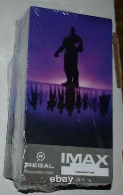Marvels Avengers Endgame IMAX Collectible Regal Ticket Movie Sealed lot of 100
