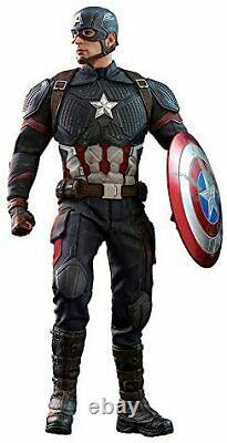 Movie Masterpiece Avengers Endgame 1/6 Action Figure Captain America Hot Toys