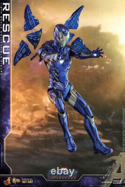 NEW Hot Toys Movie Masterpiece DIECAST Avengers Endgame Rescue 1/6 Scale Figure