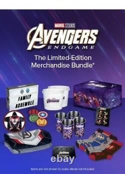 New Disney Movie Club Avengers Endgame Box Bundle Marvel Exclusive