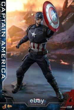 Pre-sale Hottoys Movie Masterpiece End Game Captain America 16 scale Figure